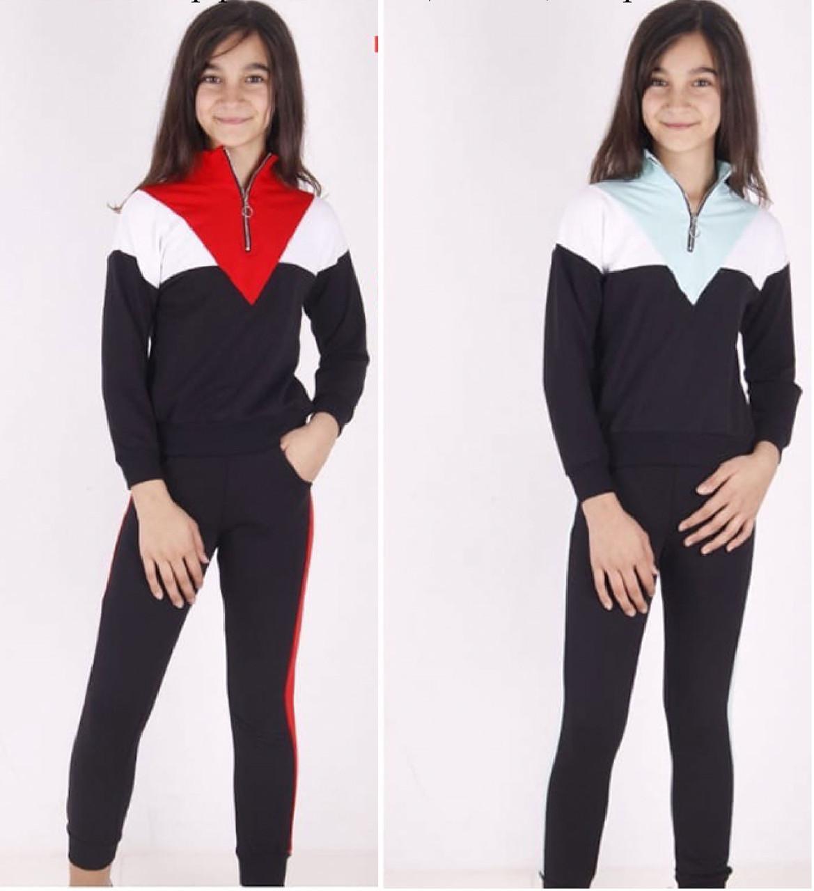 Детский спортивный костюм для девочки, демисезонный, ToonToy (размер 10(140))