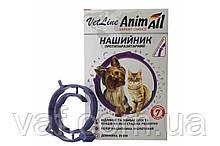 Ошейник противопаразитный AnimАll VetLine ЭнимАлл ВетЛайн для котов и мелких собак, 35 см