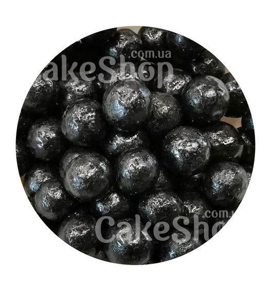 Посыпка шарики глянцевые Черные 10 мм