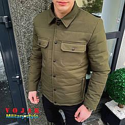 Чоловіча мілітарі куртка IPO Хакі