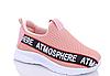 Кросівки дитячі для дівчинки. 444пудра