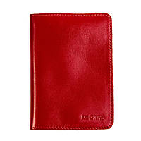 Обкладинка для паспорта з RFID захистом червоний LOCKER's Pas2 Red