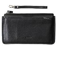 Барсетка чоловіча з екрануючим кишенею для смартфона LOCKER's Phone Bag Black