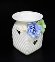 """Аромалампа керамічна з квітами """"1А"""""""