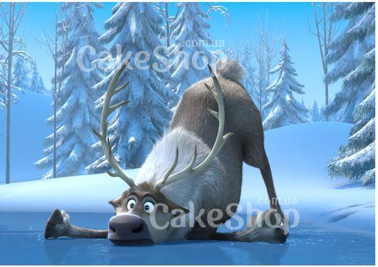 Вафельная картинка Холодное сердце 10