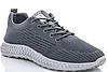 Кросівки чоловічі тканиннHFX005 d.grey
