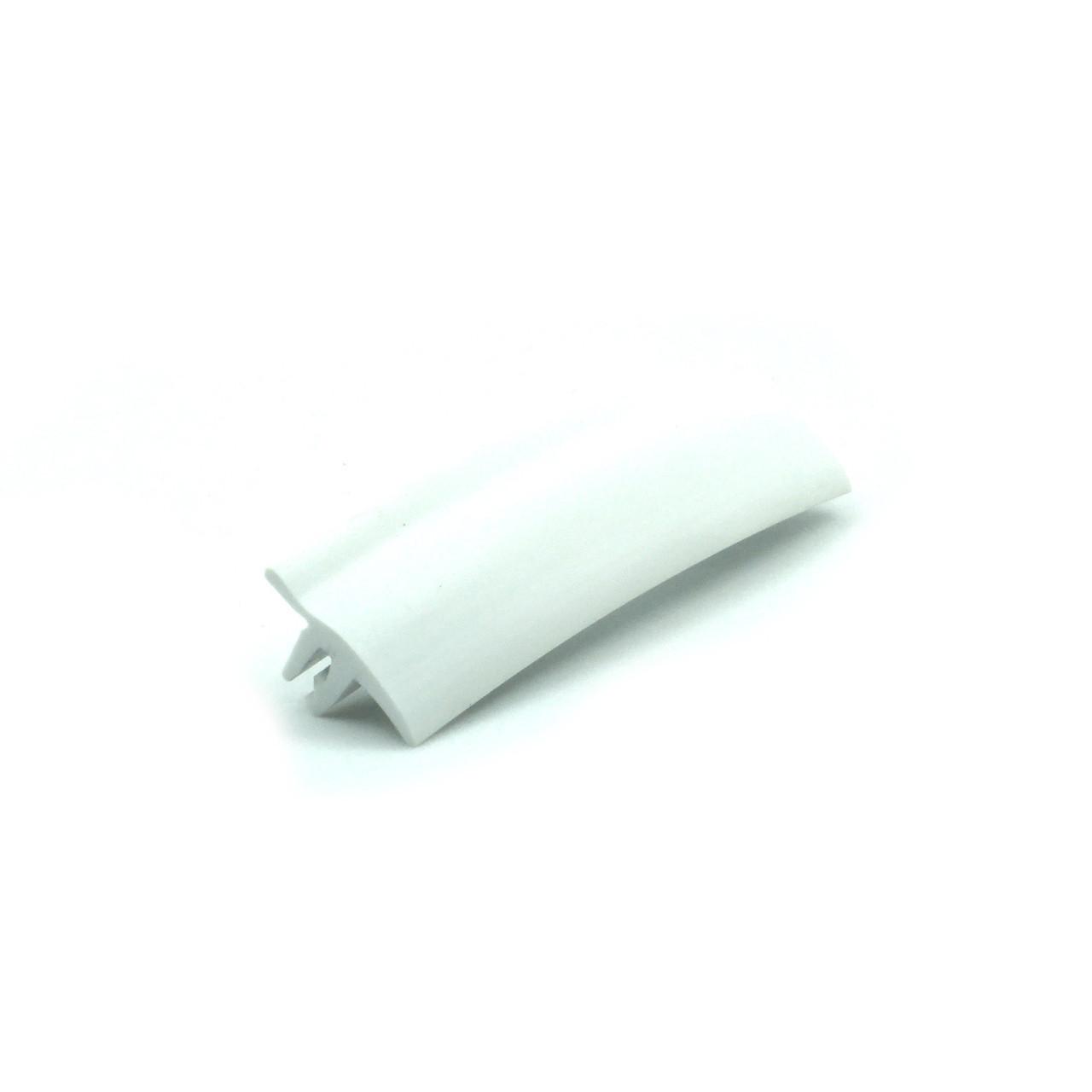 """Вставка декоративна для натяжної стелі №3 """"TL"""" біла (ширина 14 мм, біла, 2 зуба)"""