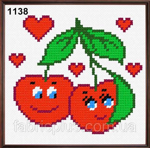 Набір для вишивання в асортименті (тканина з малюнком, муліне, голка) 11 * 11 см