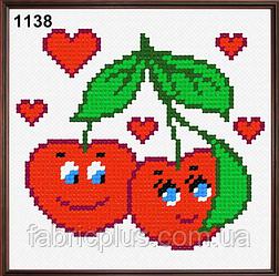 Набор для вышивания в ассортименте (ткань с рисунком, мулине, игла) 11*11 см