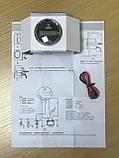 Цифровий лічильник мотогодин ecms не імпульсний чорний, фото 4