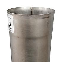 Труба ø300 мм 1 мм 1 метр AISI 321 Stalar дымоходная одностенная для дымохода бани сауны из нержавеющей стали, фото 3