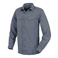 Рубашка с длинным рукавом Helikon-Tex® DEFENDER Mk2 Gentleman Shirt® - Melange Blue