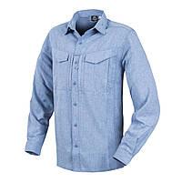 Рубашка с длинным рукавом Helikon-Tex® DEFENDER Mk2 Gentleman Shirt® - Melange Light Blue