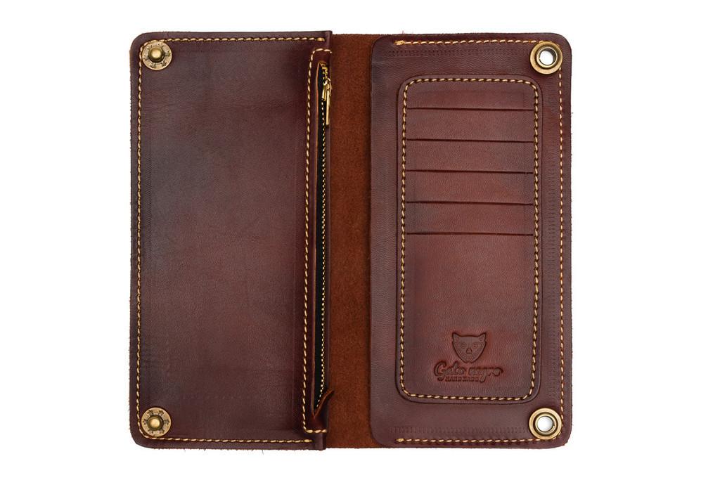 Кожаные кошельки и портмоне ручной работы 2