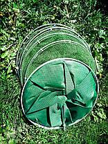 Садок прогумований Weida з кілочком (d 40 см*2,5 м ) Чезол в подарунок, фото 3