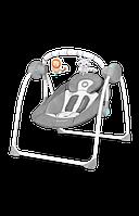 Детское кресло-качалка Lionelo RUBEN GREY TURQUOISE, фото 1