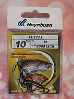 """Крючок  """"Hayabusa"""" №10 (№7) длинное цевьё"""