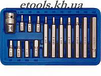Набор шестигранных бит 15 HEX H4-H12 Vorel 66720