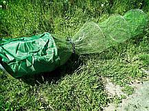 Садок прорезиненный Weida с колышком (d 40 см* 3  м ) Чехол в подарок, фото 3