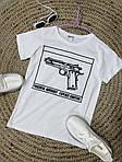Женская футболка, хлопок, р-р 42-44; 46-48 (белый), фото 2