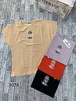 Женская летняя футболка BEST размер 44-46,цвет уточняйте при заказе, фото 1