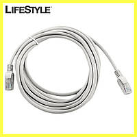 Патчкорд для интернета LAN 10m 13525-7 / Лан кабель на 10 метров