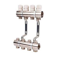 """Коллекторная система для отопления 1"""" SANDIPLUS SD236W9 на 9 выходов 79320"""