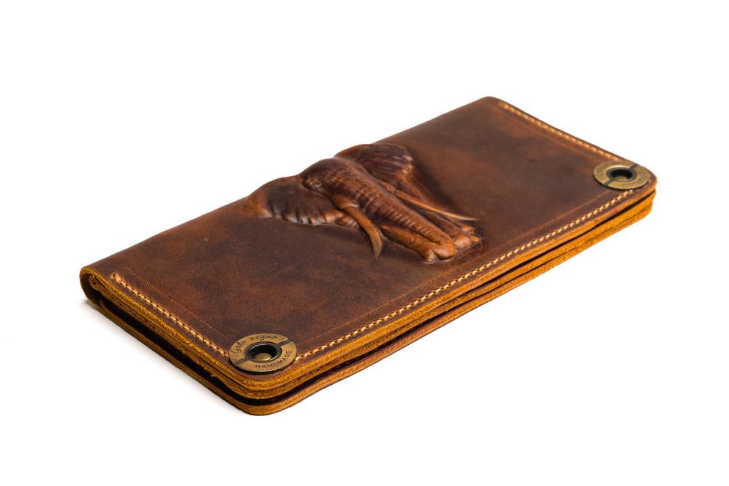 Кожаные кошельки и портмоне ручной работы 28