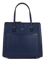 Ділова жіноча шкіряна сумка в 2х кольорах L-JY2236