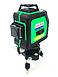Профессиональный лазерный уровень AL-FA ALNL-3DG лазерный нивелир, фото 4