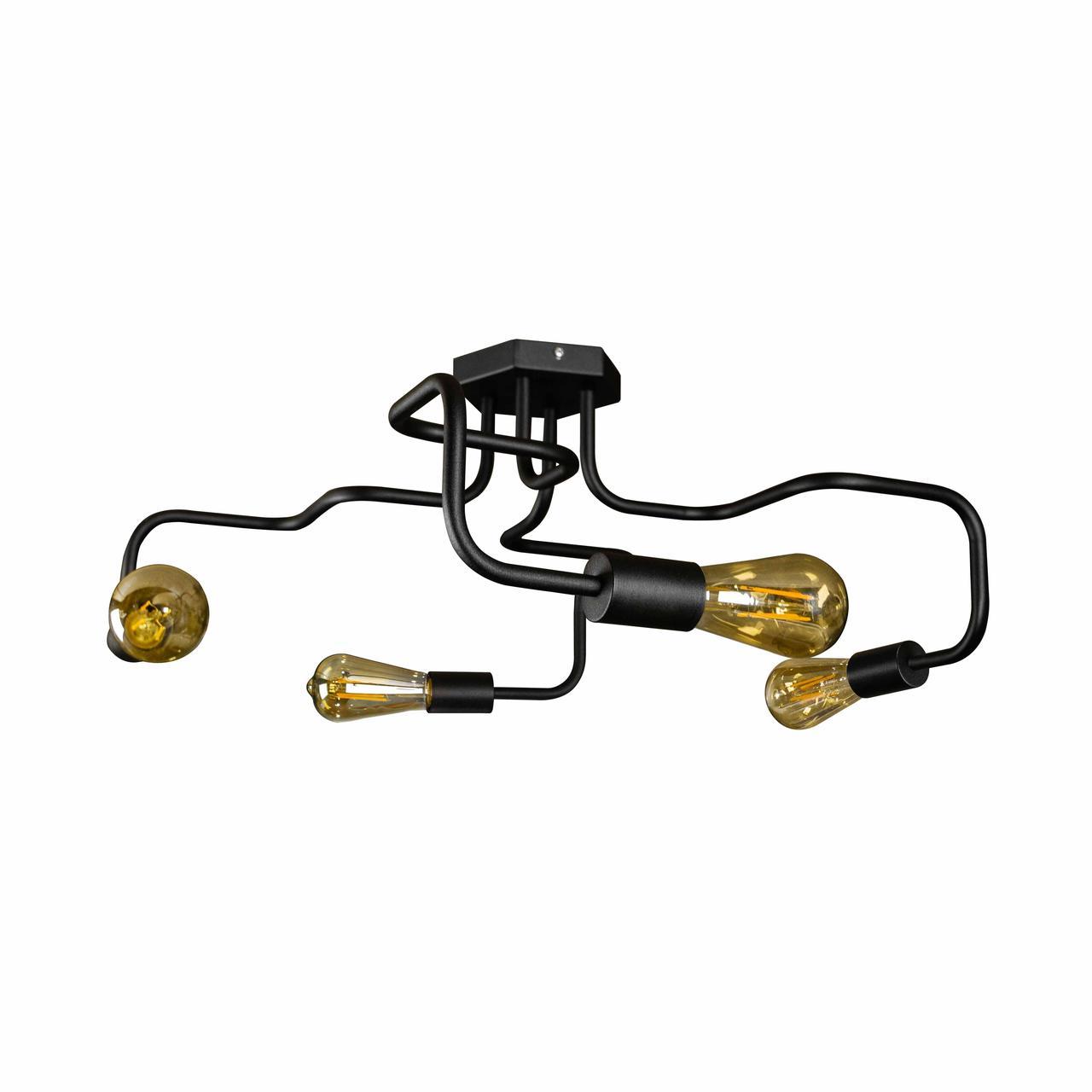 Люстра лофт на чотири лампи павук NL5526-4 MSK Electric