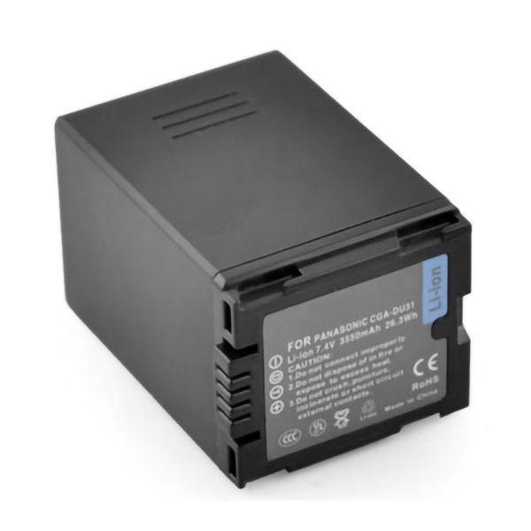 Акумулятор для відеокамери Panasonic CGA-DU31 / VW-VBD310 (3550 mAh)