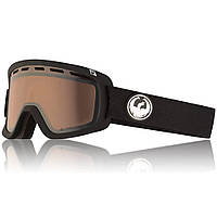 Комфортные очки для катания на лыжах и сноуборде Dragon D1 OTG Black линза Lumalens Silver Ion
