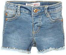 Детские джинсовые шорты для девочек 1-10 лет