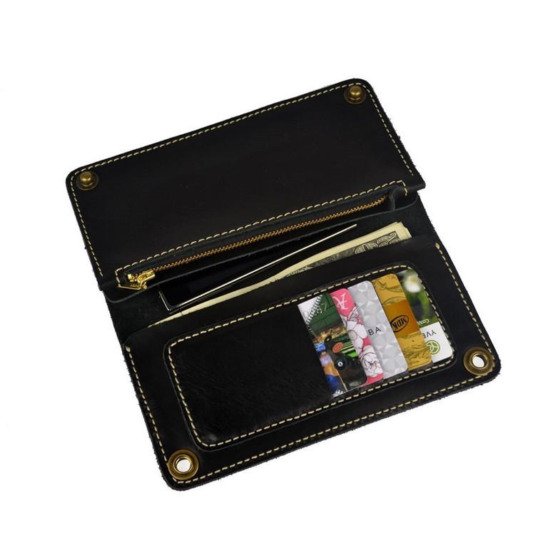 Кожаные кошельки и портмоне ручной работы 43