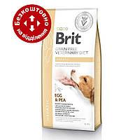Brit Veterinary Diet Dog Grain Free Hepatic 12кг - беззернова дієта при печінковій недостатності