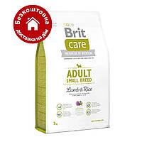 Brit Care Adult Small Breed Lamb & Rice 7,5 кг - корм для собак дрібних порід з ягням