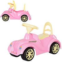 Машинка игрушечная для катания РЕТРО розовая ОРИОН 900
