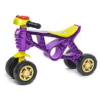 Іграшковий Мотоцикл БЕГОВЕЛ-2 фіолетовий ОРІОН 188