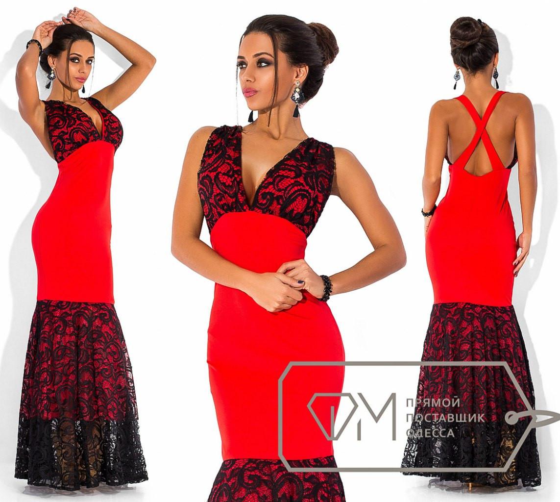 5a466df2dfc Элегантное длинное вечернее платье с открытой спиной
