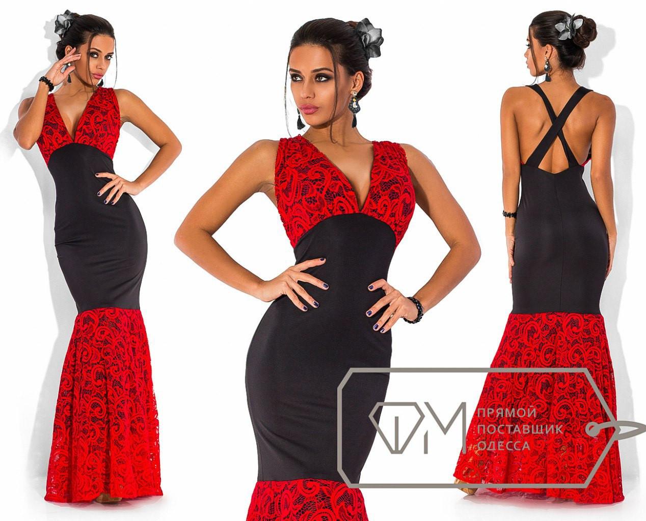 7309a533239 Элегантное длинное вечернее платье с открытой спиной