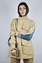 Куртка 6633 M Бежевый + джинс
