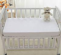 Наматрасник детский, 60х120 см непромокаемый на резинке, водонепроницаемый