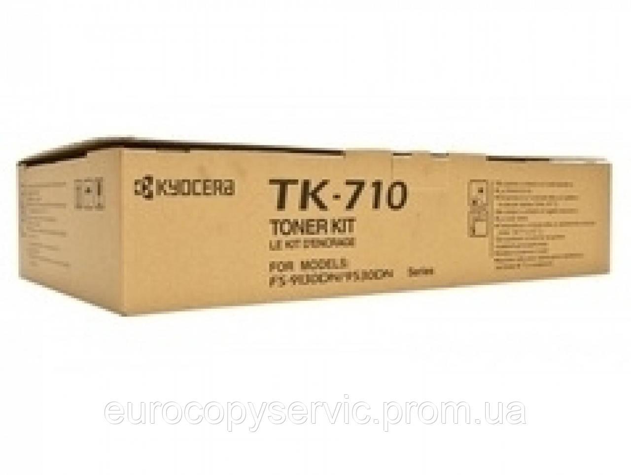 Туба с тонером Kyoсera Mita TK-710 для FS-9130DN/9530DN 40000 копій Black (1T02G10EU0)