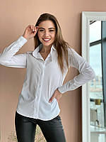 Сорочка жіноча 196 (42-44;44-46;48-50) (кольори: білий) СП, фото 1