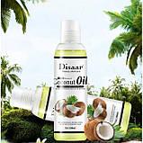 Масло массажное Disaar Coconut Oil, масло кокосовое натуральное,100 мл, фото 2