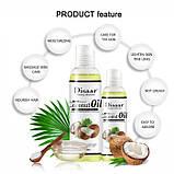 Масло массажное Disaar Coconut Oil, масло кокосовое натуральное,100 мл, фото 5