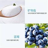 Соляний Скраб для тіла з чорницею Skin Beautiful Bath Salts Blueberry, універсальний, 200 г, фото 4