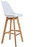 Барный стул Жаклин СХ Хокер  на деревянных опорах  Ричман / Richman