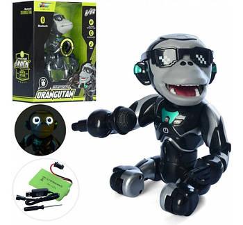 Интерактивная Игрушка танцующий Орангутан обезьяна с микрофоном Q2, смарт Орангутан танцующий
